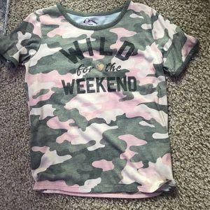 T-shirt size youth 8 girls
